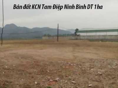 Sang nhượng gấp 1ha đất công nghiệp tại Tam Điệp Ninh Bình