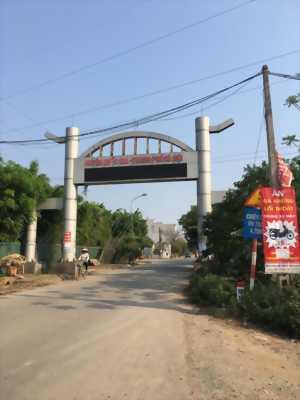 Bán lô góc 2 mặt tiền khu Tái định cư, xem đất tại Thái Bình