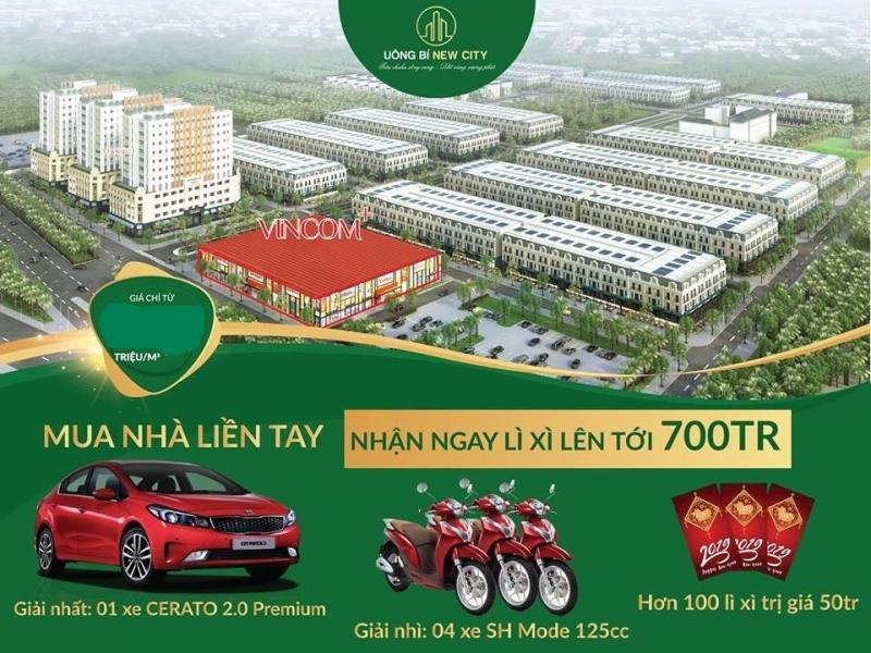 Uông Bí New City – Không đầu tư lúc này, mất ngay cơ hội lớn