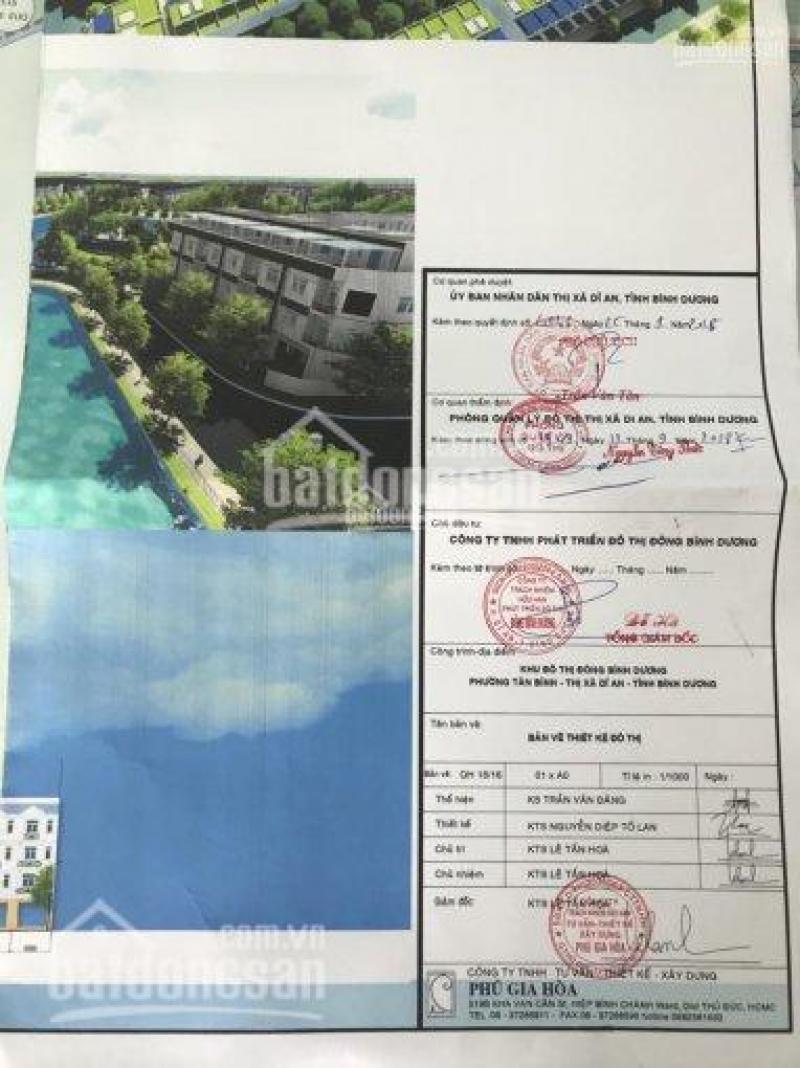 Cần bán vài lô đất trong KDT Đông Bình Dươn, Dĩ An giá rẻ