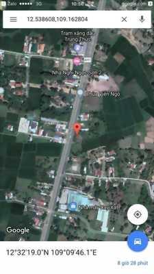 230tr đầu tư sinh lời ngay với lô đất mt QL1A trung tâm tx Ninh Hoà