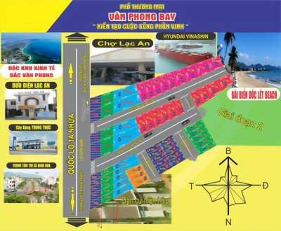 Đất chính chủ SHR, ngay mặt tiền đường QL 1A thị xã Ninh Hòa Khánh Hòa gần KDL Dốc Lết