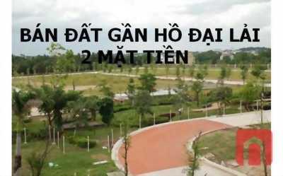 Bán đất kinh doanh gần hồ Đại Lải Vĩnh Phúc DT 1000m2 2 mặt phố Phùng Chí Kiên-Nguyễn Văn Cừ