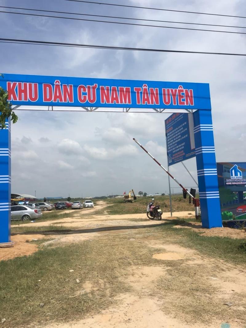 Bán đất khu dân cư Nam Tân Uyên Bình Dương