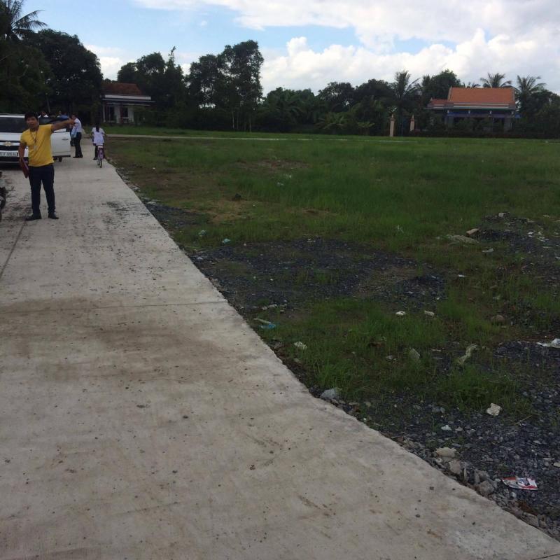 Đất nền thổ cư 100 mặt tiền tỉnh lộ 835B - Ngay KCN Cầu Tràm