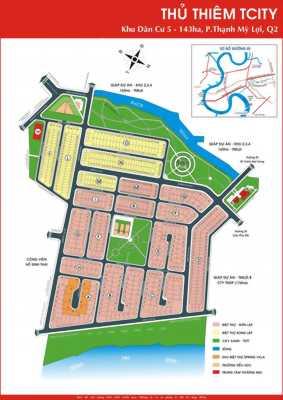 Bán đất nền dự án tại Khu Dân cư Thủ Thiêm Villa, Quận 2, Hồ Chí Minh