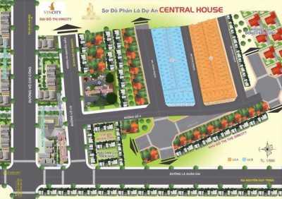 Mở bán dự án Central house mặt tiền đường 4 Lò Lu q9