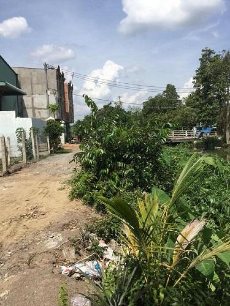 Đất bán Đường Bình Mỹ ngay Cầu Nhà Vuông, Huyện Củ Chi, diện tích 5 x 20m, giá 1 tỷ 490tr.