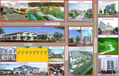 Chính chủ cần bán 8 lô đất liền kề mới ra sổ hồng ngay trung tâm phường Tân An, 250m2