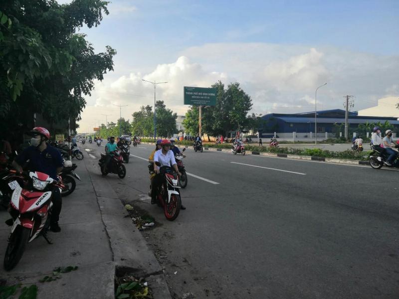 Đất TTHC  Thành Phố Mới , hơn 800tr sở hưu ngay lô đất mặt tiền DT 742 Phú Chánh