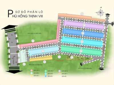 Hàng ngộp Phú Hồng Thịnh 8 cần ra hàng 1 số lô trên trục đường N2 và N3 giá tốt đầu tư