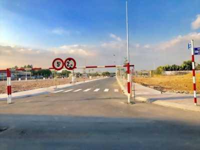 Chỉ 500 triệu sở hữu đất Thành phố Thuận An, Dĩ An, DT 60m2 đường trước nhà 12m, sổ hồng riêng