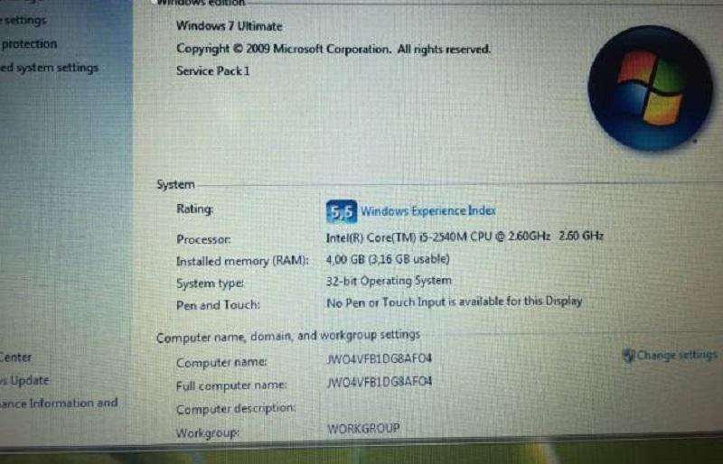 Máy tính xách tay dell 6420 chip i5