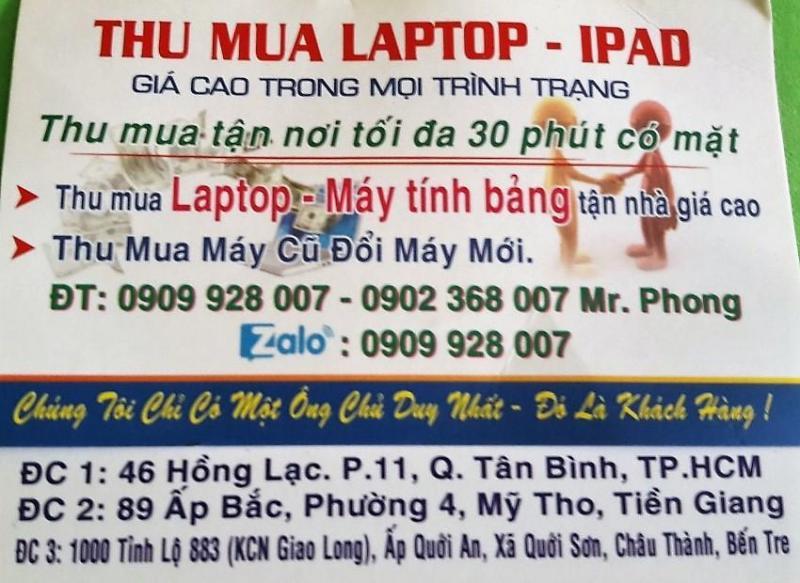 Thu laptop hư (cũ) , đổi laptop hư lấy laptop zin 100%