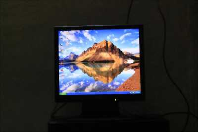 Nguyên sét máy tính để bàn ram 1gb, màng hình dell 19in