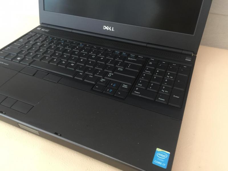 Dell M4800 Core I7-4810MQ 16G 128+750G K1100M FHD