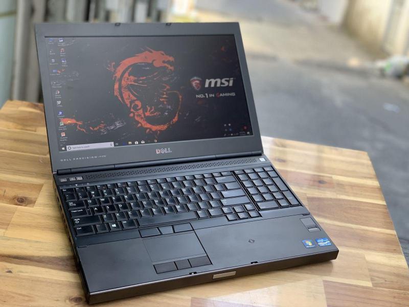 Laptop Dell Precision M4700, i7 3840QM 8G SSD256 Full HD Đèn Phím K2000 Giá rẻ