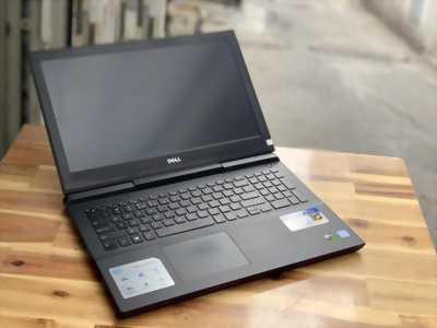 Laptop Dell Gaming 7567, i7 7700HQ 8G SSD128+1T Vga GTX1050ti Full HD Còn BH Hãng 5/2019