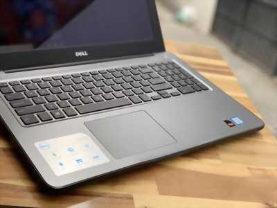 Laptop Dell INS 5567, i7 7500U 16G SSD256 Vga rời 4G Full HD Cảm ứng Đèn phím Full Box Giá rẻ