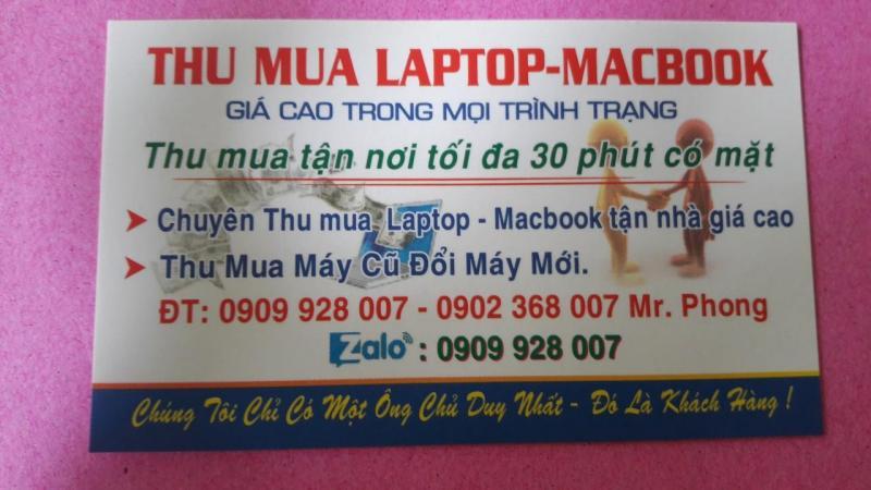 Trao đổi laptop cũ lấy laptop