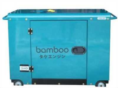 Máy phát điện Bamboo 9800 (7,5 kw; dầu; chống ồn )