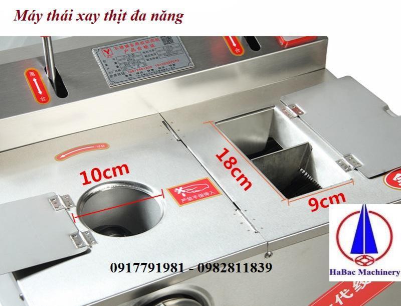 Máy thái xay thịt đa năng hàng công ty 015