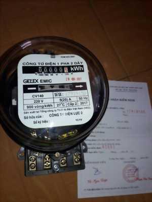 Công tơ điện 1pha 2 dây EMIC CV140 20(80)A giá tốt nhất