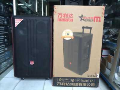 Loa kéo malata m+9040 có cài sẵn 20 ngàn bài karaoke 5 số