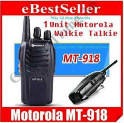 Bộ đàm Motorola MT-918 Sản xuất Malaisia giá rất rẻ