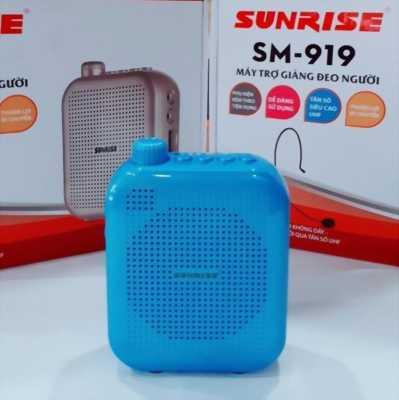 Máy trợ giảng Sunrise SM 919 USB Bluetooth kèm micro không dây