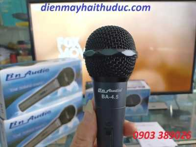 Micro có dây BN Audio BA-4.5 design in USA chính hãng Boston