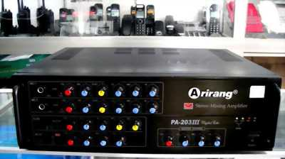 Amply Arirang PA-203III sản phẩm tầm trung  công suất 300W