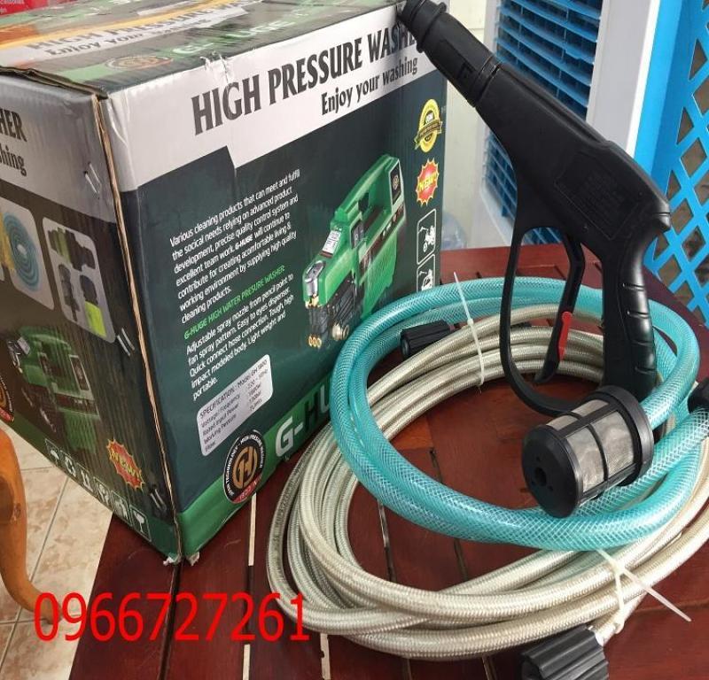 Máy xịt rửa xe đa năng G-HUGE 1800w