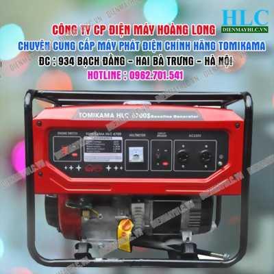 Giảm giá máy phát điện chính hãng Tomikama 6700s tại Hưng Yên