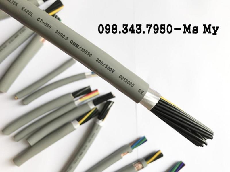 Cáp điều khiển có lưới chống nhiễu - Cáp Altel Kabel 2x1.0mm