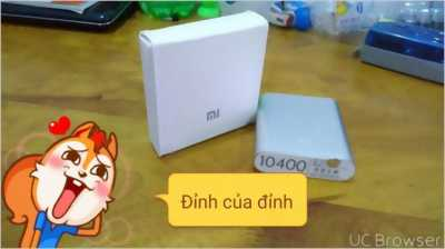 Pin sạc dự phòng Xiaomi Power Bank 10400mah