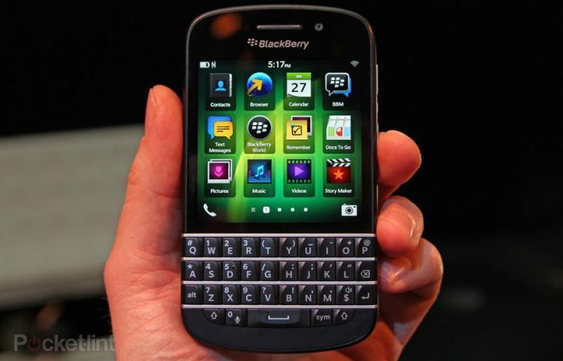 Giao lưu máy Blackberry Q10 ở Hồ Chí Minh