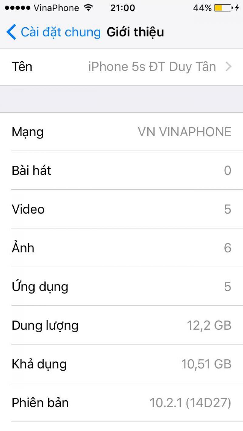 Iphone 5s qt