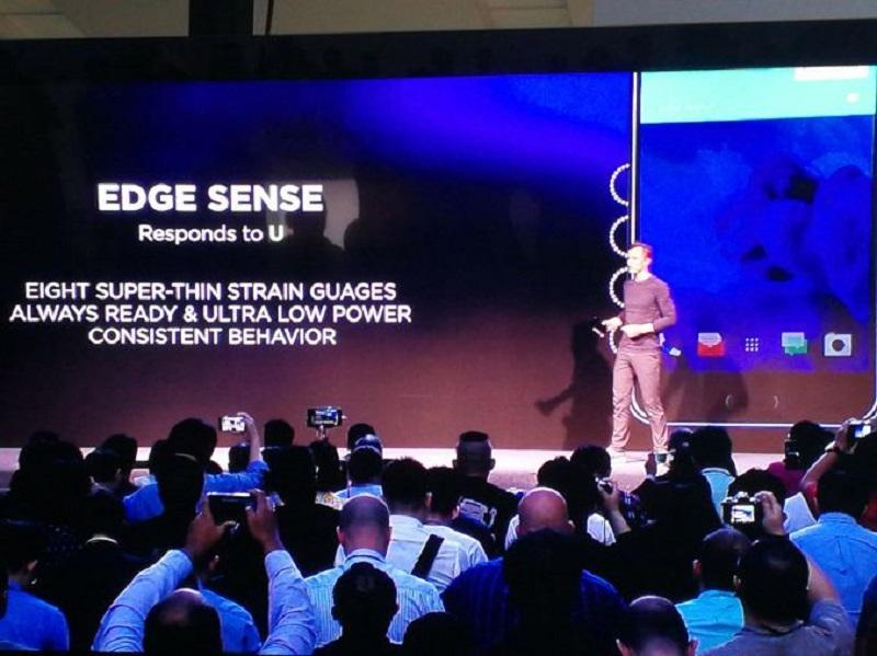 Chào mừng bạn đến với chiếc Smartphone sử dụng bằng thao tác ép: HTC đã tung ra chiếc điện thoại U11