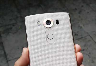 LG V10 Trắng viền vàng 2Sim