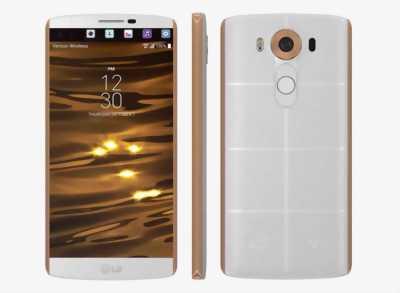 LG V10 Trắng viền gold