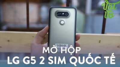 LG G5 màu đen mới nguyên cần bán