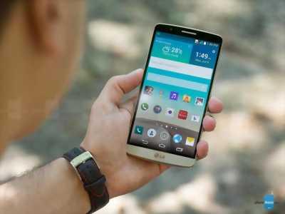 Cần bán điện thoại LG G3cat6 mau vang gon.