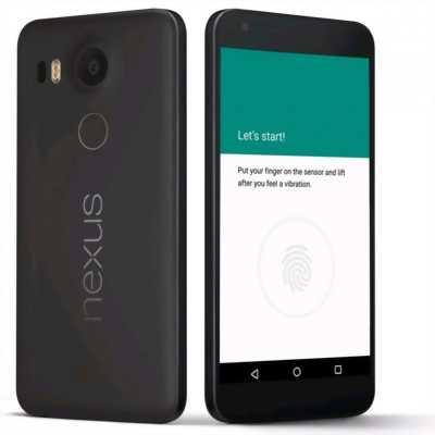 Nexus 5X 32 GB đen