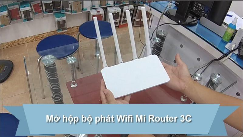 PHÁT WIFI MI ROUTER 3C - 4ANTEN