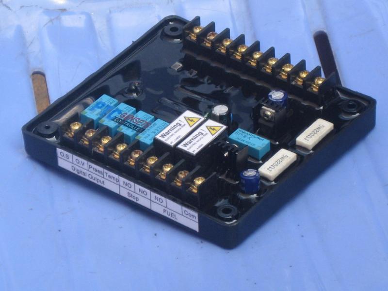 Broad bảo vệ nhiệt độ nước cao , áp lực nhớt thấp máy phát điện