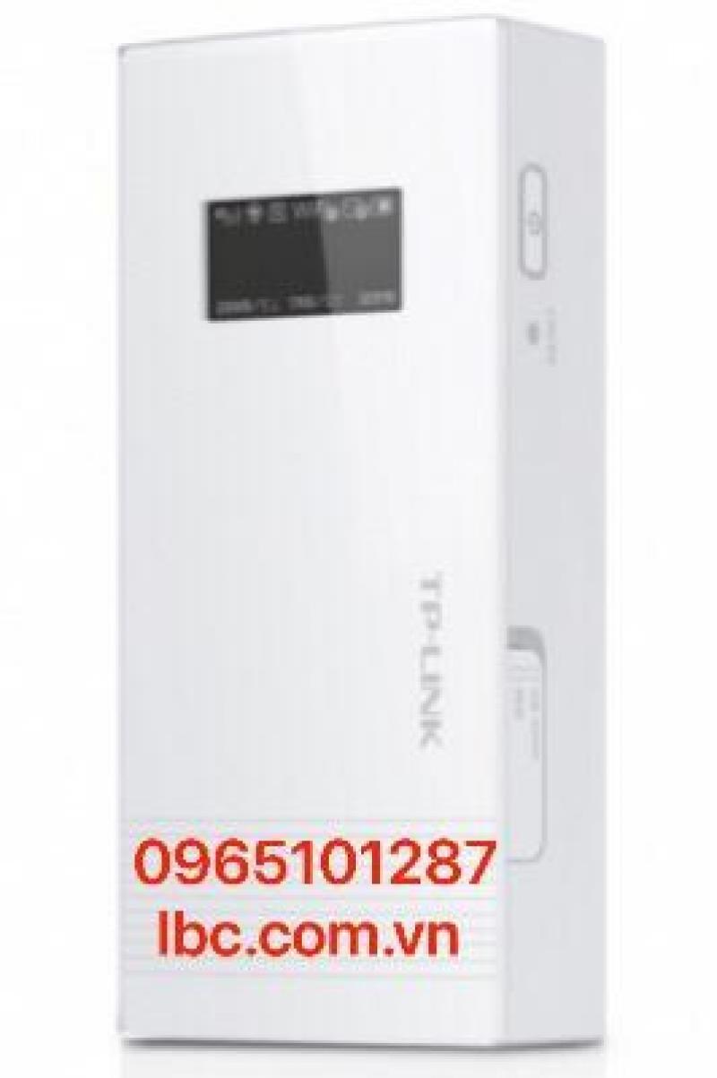 Bộ phát wifi 3G kiêm Pin sạc dự phòng Power Bank 5200mAh Tp-Link M5360