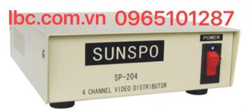 KHUẾCH ĐẠI TÍN HIỆU VIDEO SUNSPO SP-204