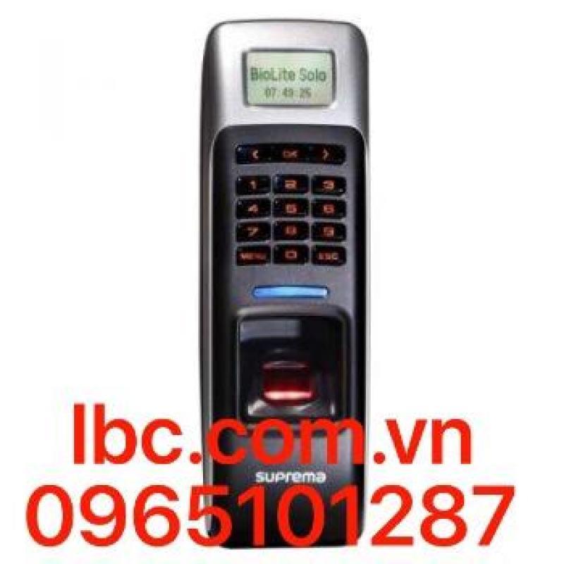 Suprema BioLite NET BLR-OC – Thiết bị chấm công kiểm soát cửa bằng vân tay,thẻ