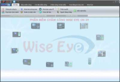 Phần mềm chấm công Wise Eye On 39